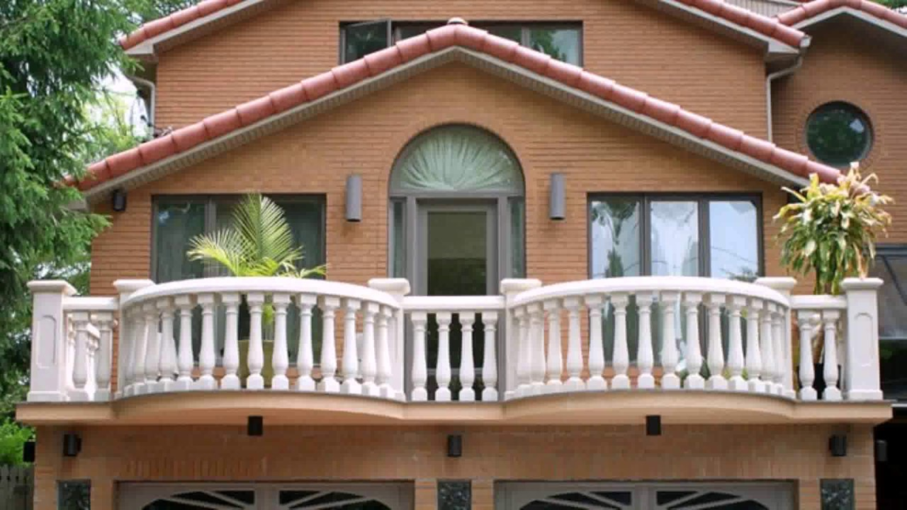 Roof Railing Design House India Youtube