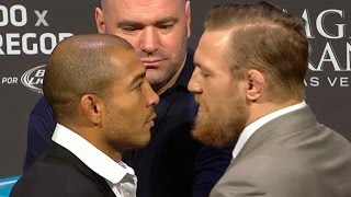 Conor McGregor Tells Jose Aldo