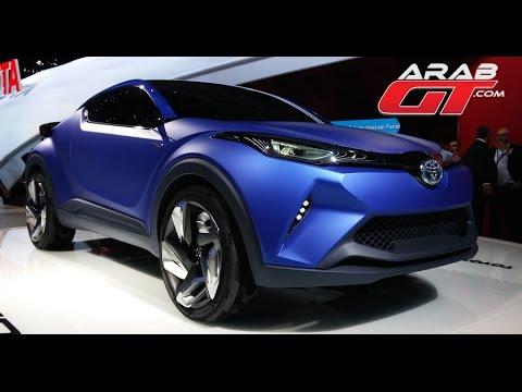 Toyota C-HR Concept الاختبارية C-HR تويوتا