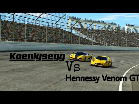 Real Racing 3- Koenigsegg Agera RS Vs Hennessy Venom GT | Aggressive Ambition Stage 6 Complete