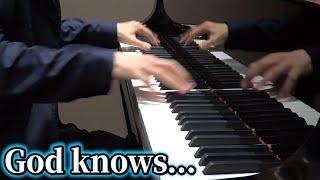 【ピアノ】「God knows...」を弾いてみた byよみぃ【涼宮ハルヒの憂鬱】