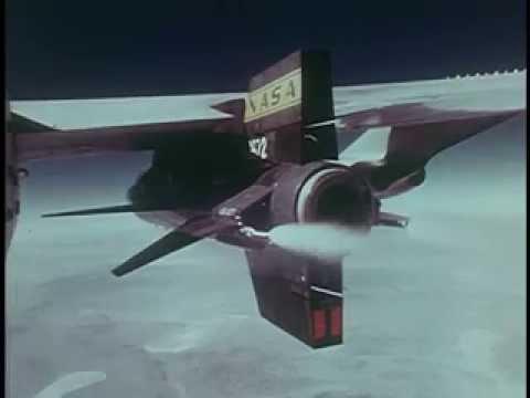[ X-15 ] Hypersonic Rocket Plane Test