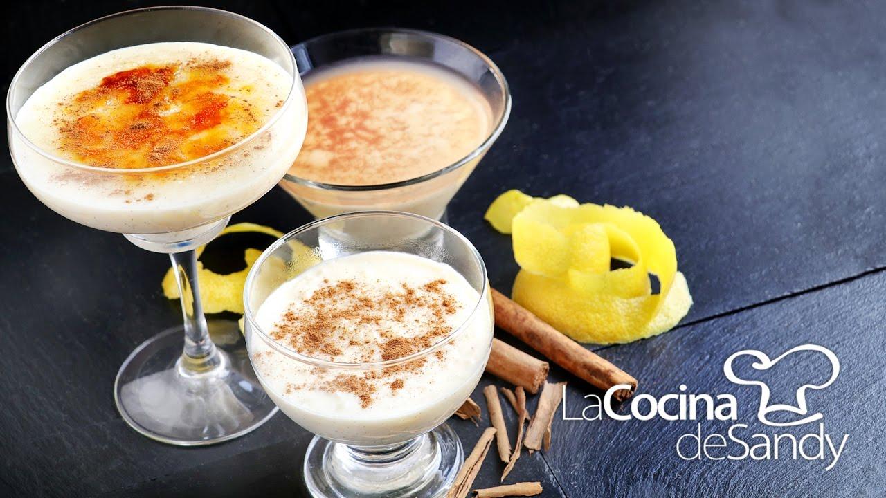 Arroz con leche canela limon y vainilla en mis postres for Postres faciles