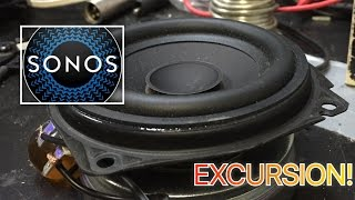 Sonos Play:1-Extreme Woofer Excursion