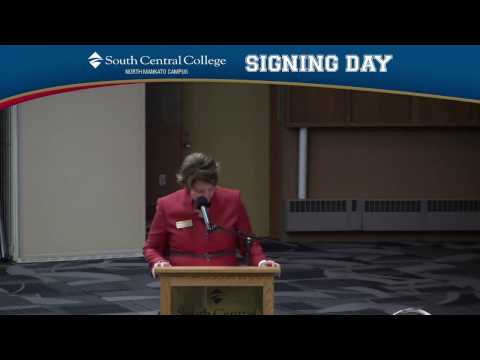 National Signing Day 2017 | South Central College - North Mankato Campus