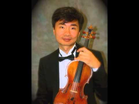 Dr.Eun Hwan Bai, Mozart Violin Sonata no 10 (K 378) piano,Rye Ja Bai
