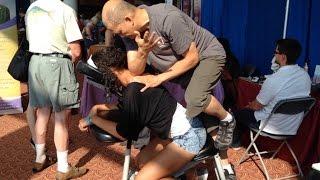 PalmLeaf Massage Style - Chair Massage