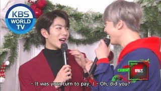 Interview with 00s (빵빵즈) [Music Bank / ENG / 2019.12.20]