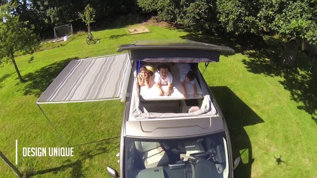 Comment Monter Un Lit Cars démonstration du fourgon aménagé horizon van par glénan concept cars