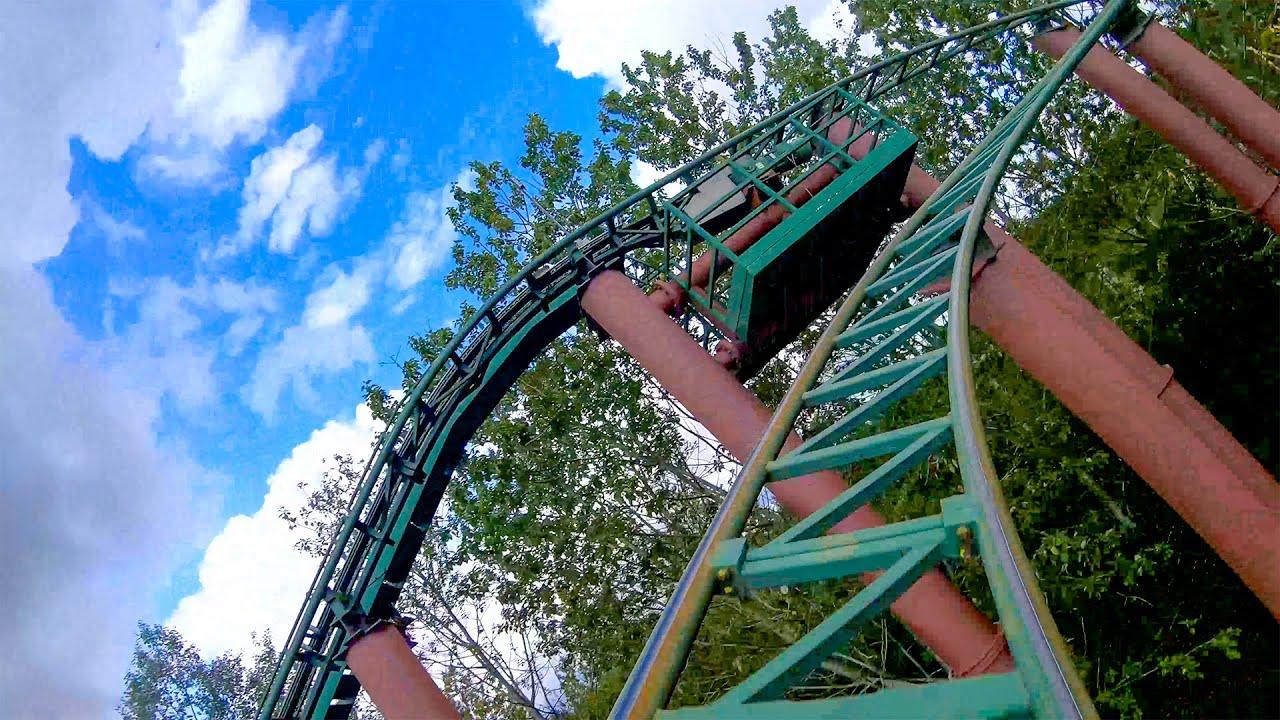 Thor's Hammer Roller Coaster 4K POV - Djurs Sommerland Denmark