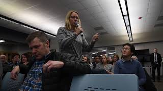 At tense meeting, parents express frustration, anger over racist incidents at Michigan school