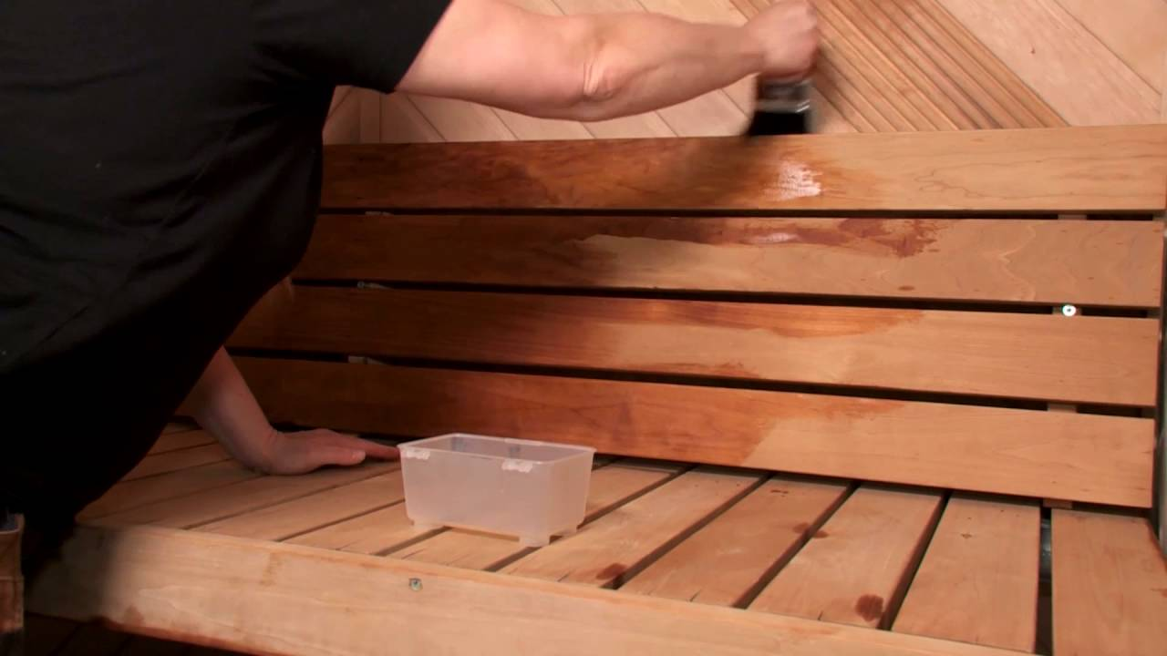 PRO VINKKI: helpota parafiiniöljyn levittämistä, K-rauta - YouTube