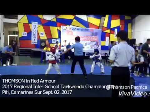 Thomson @ The 2017 Regional Inter-School Taekwondo Championships, Pili, Camarines Sur, Sept. 2, 2017