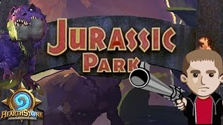 WELCOME TO JURASSIC PARK DECK (Hearthstone Highlight)