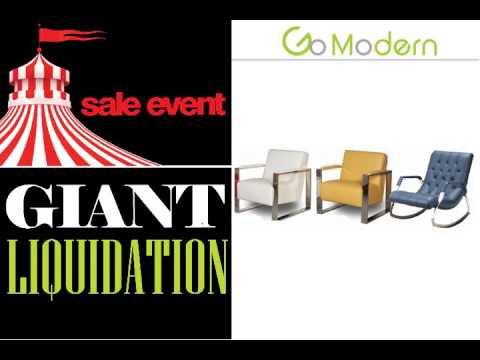 Modern Furniture Miami |Go Modern Tent Sale   YouTube