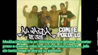 Sin Salida - ComitePokoflo + Al QaedaRap (Letra)