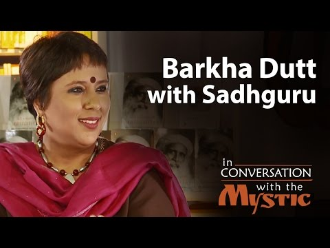 Barkha Dutt with
