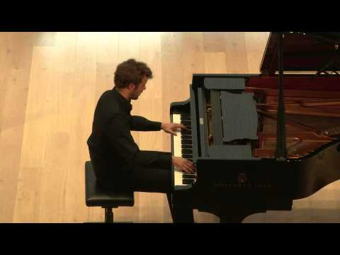 Grieg Competition 2014: Brahms - Variations on an Original Theme (Joachim Carr)