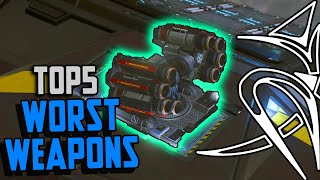 Top 5 WORST weapons [Elite Dangerous]