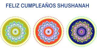 Shushanah   Indian Designs - Happy Birthday
