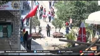 Turkish citizens react to strikes against Kurdish fighters