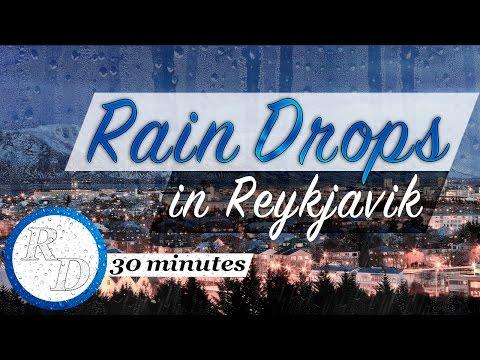 ☔️ 30 MINUTES piano music | Rain Drops in Reykjavik