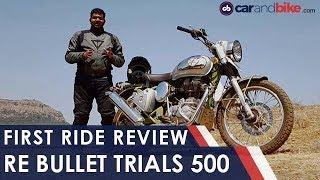 Royal Enfield Trials 500 First Ride Review   NDTV carandbike