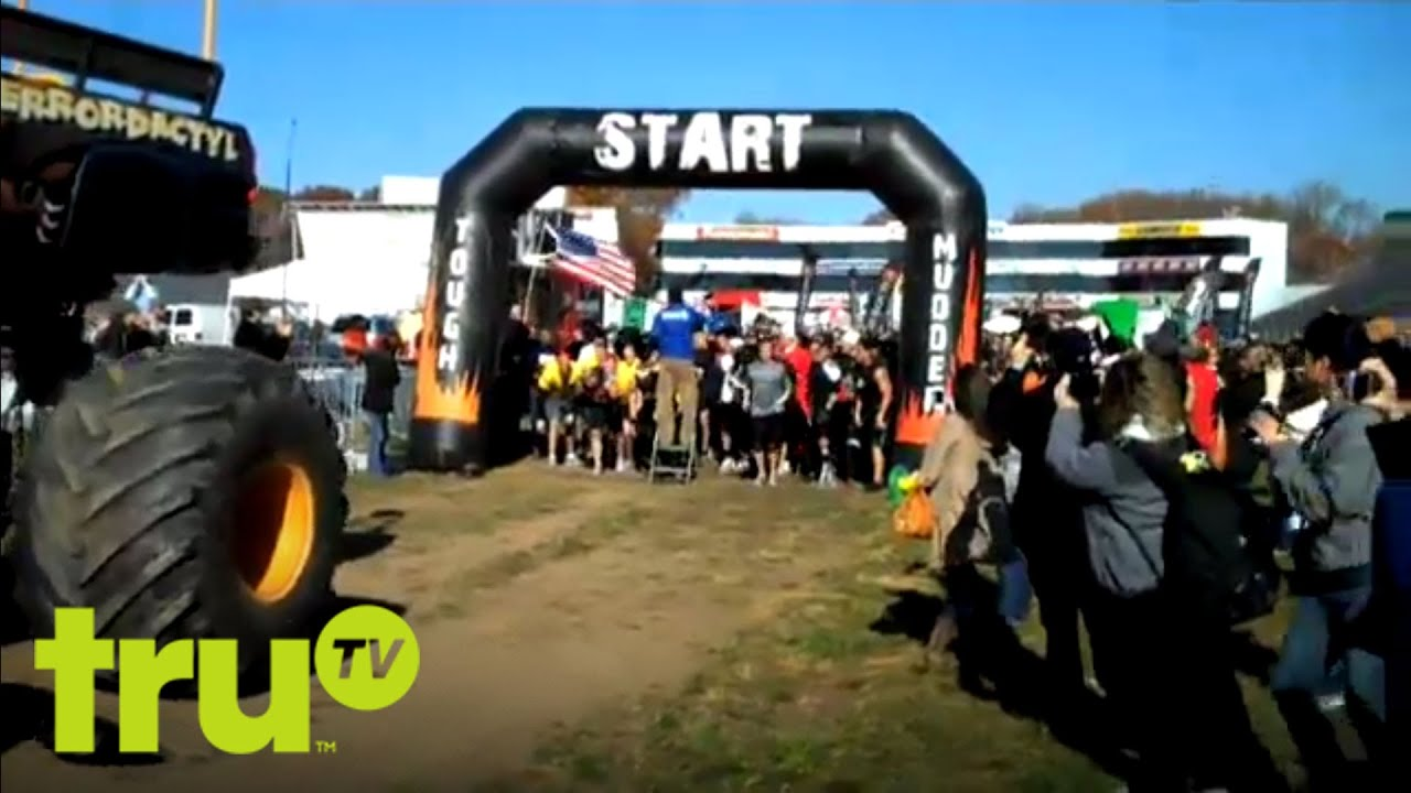 "The truTV Tough Mudders - Run along with the truTV race team as they attempt what is ""probably the toughest event on the planet."" Shot with super new 4D(irt) technology."