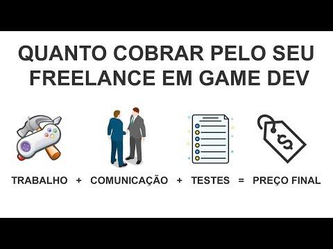 Quanto cobrar pelo seus serviços de freelance em Game Dev