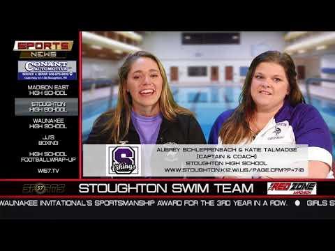 WI57 | The Sports News | Stoughton Swimming | 10-15-17
