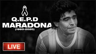 Adiós, Diego. Murió Maradona
