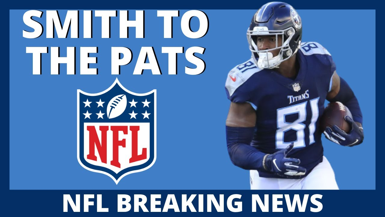 Jonnu Smith signs with the Patriots nfl free agency