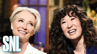 SNL Season 44 Highlights: Sandra Oh and Emma Thompson