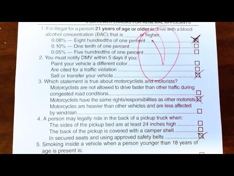 CA Written Tests 2017 [ Top 10 Viewed Dmv Papers Best ] Must Watch! [Original Exams]