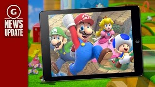 Game | Mario on Your iPhone? Nintendo to Make Mobile Games! GS News Update | Mario on Your iPhone? Nintendo to Make Mobile Games! GS News Update