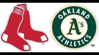 Red Sox vs Athletics