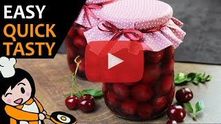 Sour Cherry Preserves - Recipe Videos