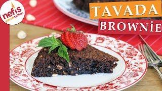 Tavada Brownie Kek Nasıl Yapılır? Islak kek sevenlere tavsiye ederim