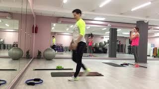 Блок упражнений на все группы мышц Круговая тренировка