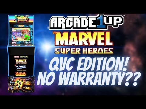 Arcade1Up QVC Marvel Super Heroes Cabinets on Clearance - WITH NO WARRANTY?! from PDubs Arcade Loft