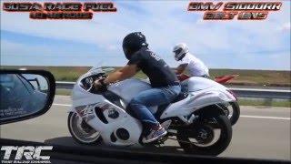 Motos vs Autos (máxima velocidad en duelos callejeros)