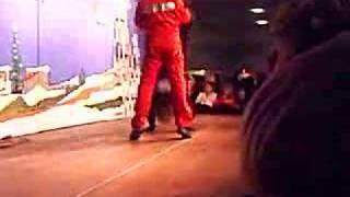 David Owe's stunt performance