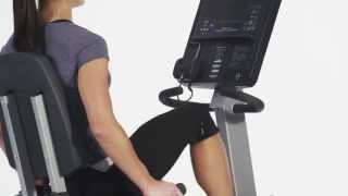 Life Fitness Club Series Recumbent Lifecycle Bike - Fitness Direct