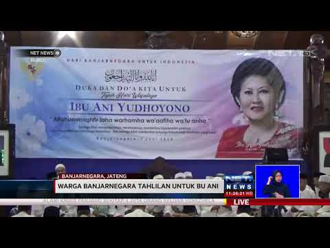 Keluarga SBY Gelar Tahlilan 7 Hari Bu Ani - NET NEWS