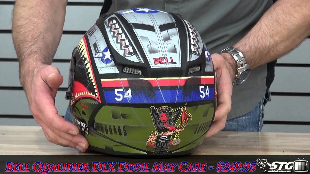 64833a86 Bell Qualifier Dlx Devil May Care Helmet Review From