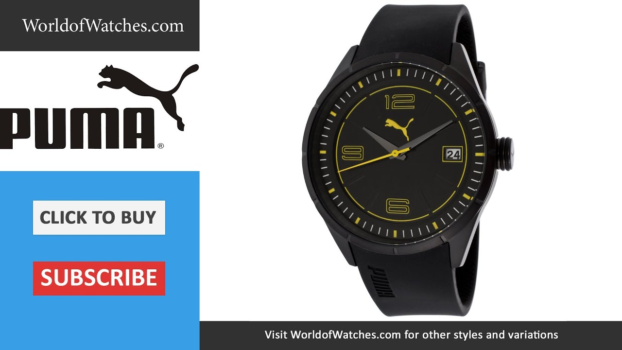 puma take pole position watch