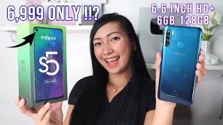 INFINIX S5 - UNBOXING & FULLREVIEW (ML,COD,BATTERY,HEATING & CAMERA)