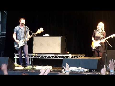 The Joy Formidable 'Whirring' HD @ Y Not Festival, Pikehall, Derbyshire, 04.08.2013.
