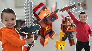 Minecraft In Real Life Fun With CKN Toys