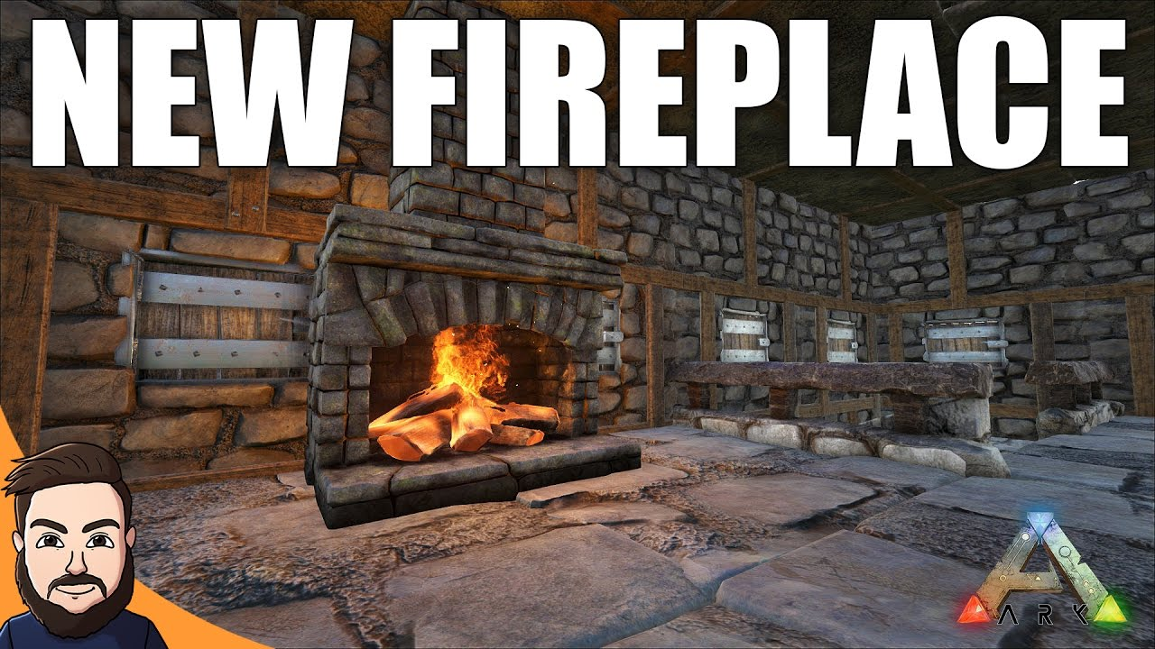 New Fireplace | Ark Survival Evolved Gameplay #8 - YouTube